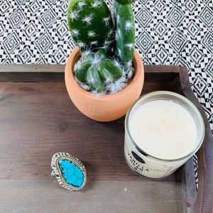 Statement boho ring from Akira